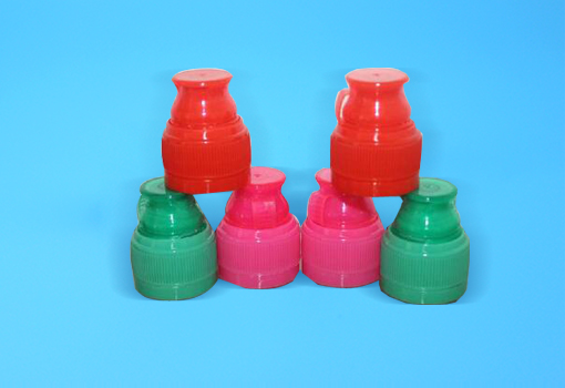 28mm plastic water bottle cap with double safty ring